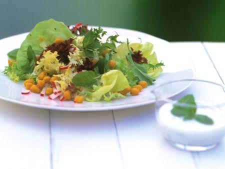 Radish and Chickpea Salad