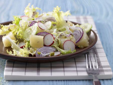 Radish-Sprouts Salad