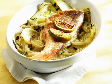 Red Snapper with Braised Fennel