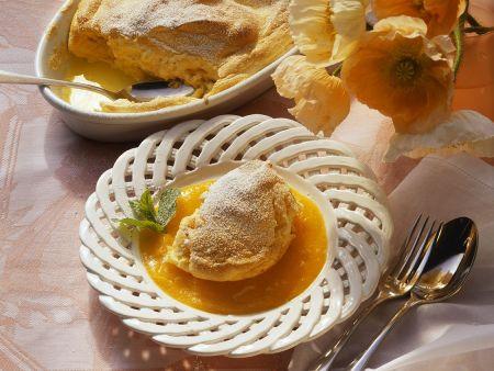 Salzburg Dumplings with Apricot Sauce