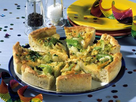 Savoy Cheese Quiche