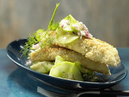 Sesam-Fischstäbchen