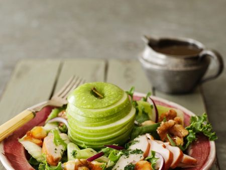 Smoked Chicken and Apple Salad