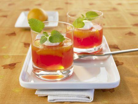 Sparkling Wine Set Dessert