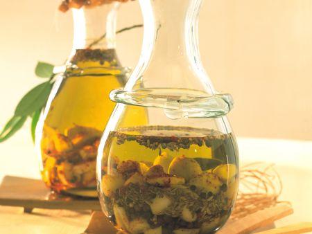 Spicy Garlic Olive Oil