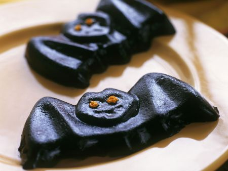 Spooky Blueberry Bat Sweets