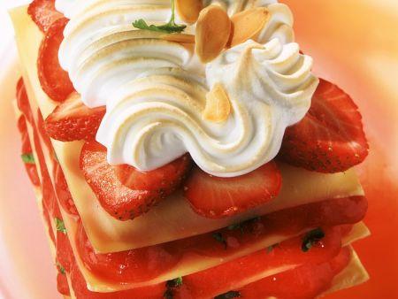 Sweet Strawberry Lasagna