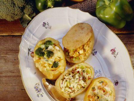 Various Stuffed Potatoes