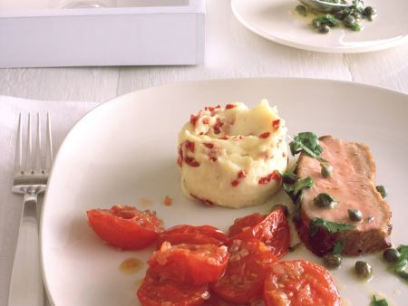 Veal with Tomatoes