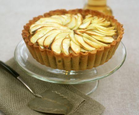 Apple and Custard Flan