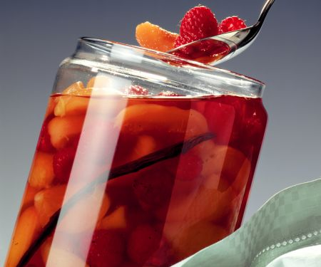 Apricot and Raspberry Compote