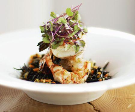 Asian-Inspired Shrimp and Kelp Salad