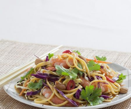 Asian Noodle Prawn Salad