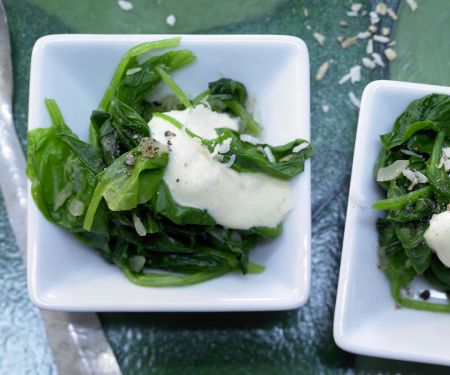 Asian-Style Spinach