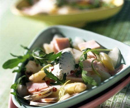 Asparagus and Arugula Salad