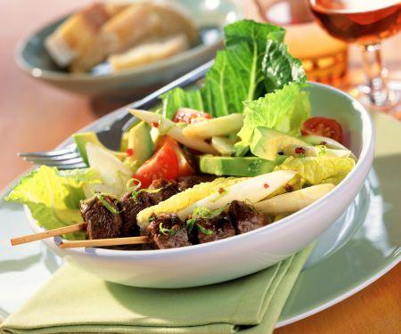 Asparagus and Avocado Salad