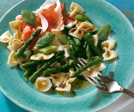Asparagus and Prosciutto Pasta Salad