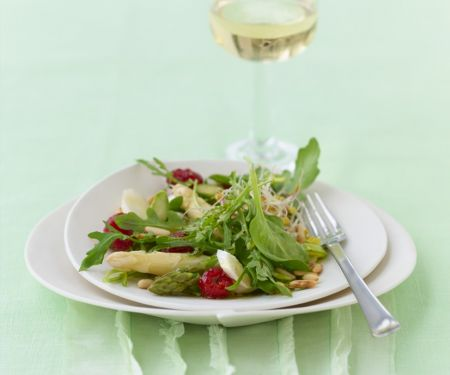 Asparagus Salad with Pinenuts