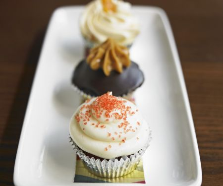 Assorted Decorated Cupcakes
