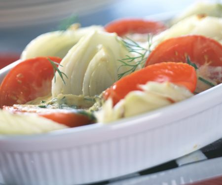 Baked Fennel and Tomatoes