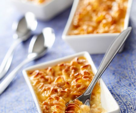 Barley and Noodle Casserole