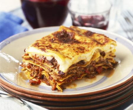Beef and Pasta Layer Bake