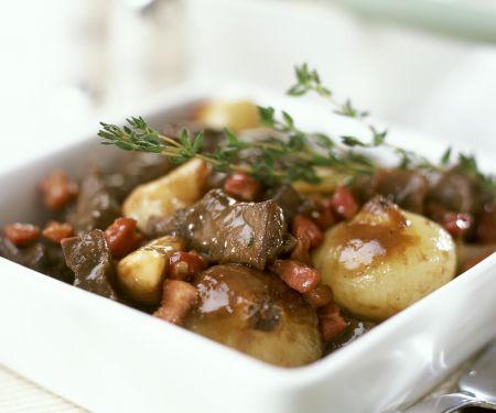Beef and Wine Casserole