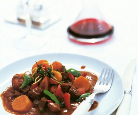 Beef Stew with Sweet Potatoes