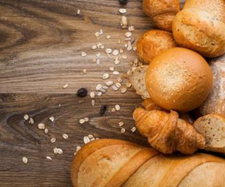 How many calories are in bread?