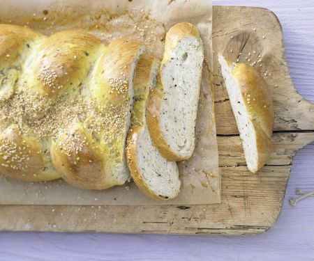 Braided Sesame Bread