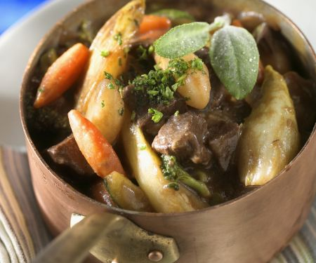 Braised Beef and Vegetables