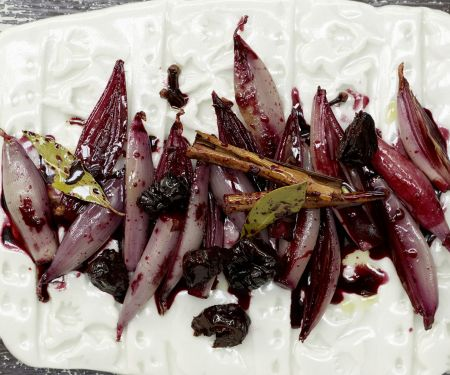 Red-Wine Shallots