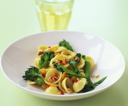 Broccoli and Chilli Pasta