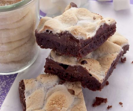 Brownies with Marshmallows