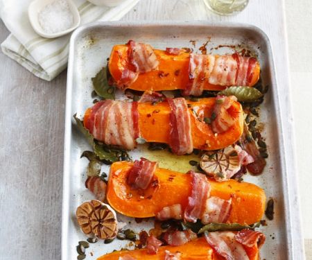 Pumpkin with Bacon and Garlic