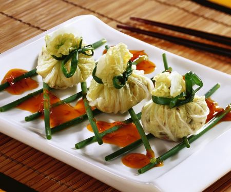 Cabbage Parcels with Rice