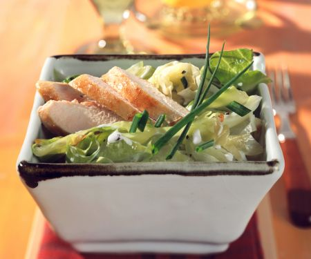 Cabbage with Chicken Breast Fillet