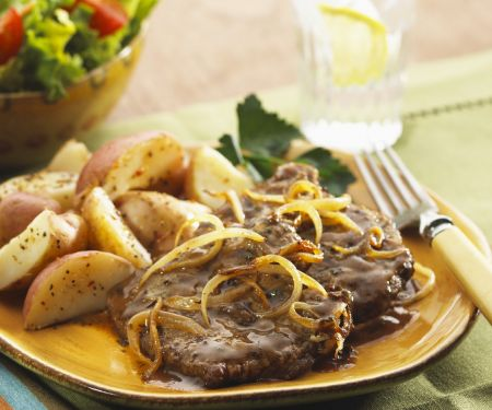 Calves' Liver and Onions