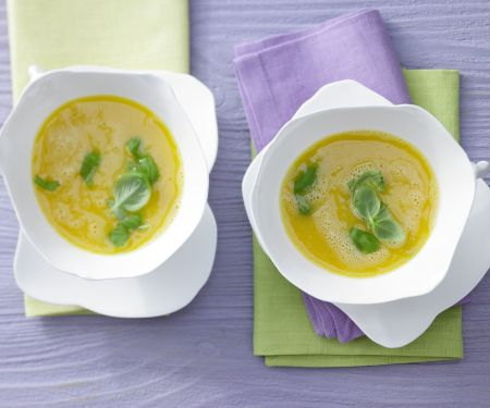 Carrot and Apricot Soup