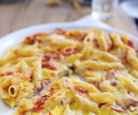 Cheesy Pasta Tart