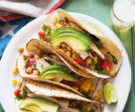 Mexican Filled Tortillas