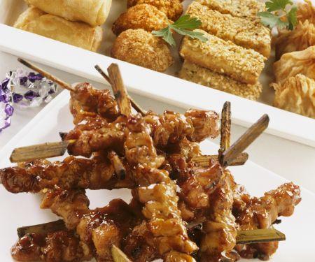 Chicken and Tofu Bites