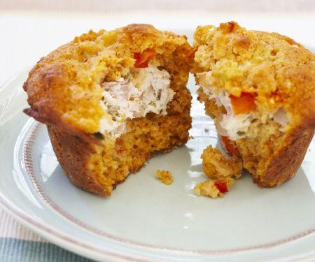 Chicken and Tomato Muffins