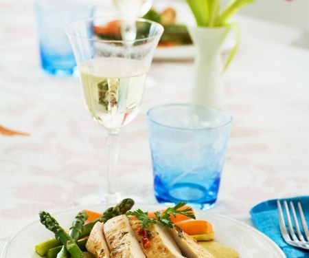 Chicken Breasts with Vegetables