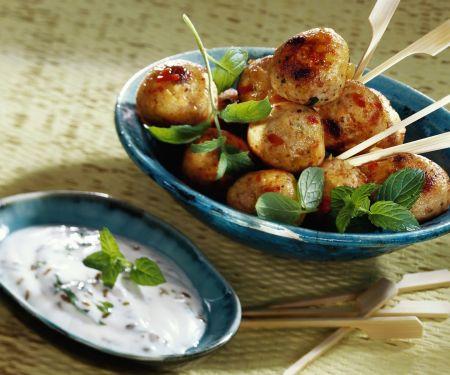 Chicken Kebab Bites