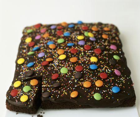 Children's Chocolate Slab Cake