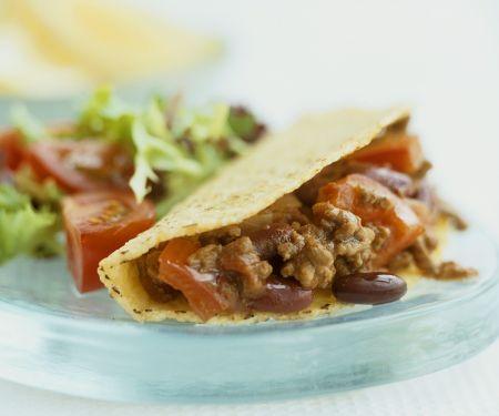 Chili Beef Corn Tacos