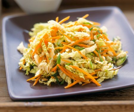 Chinese Cabbage and Carrot Salad