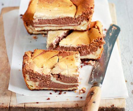 Chocolate Cheesecake Slices