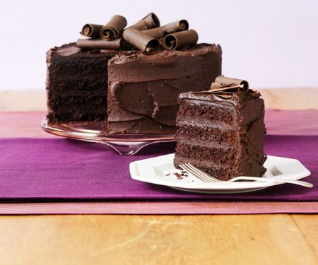 Chocolate Cream Gateau
